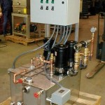 Vacuum assisted condensate return package